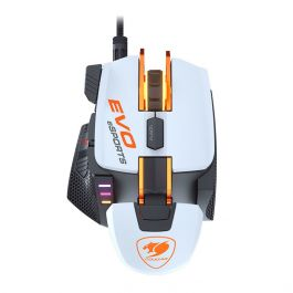 Mouse Usb Óptico Led 16000 Dpis Gamer Gr-womb-700mevo Cougar