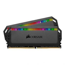 Memória Ram Dominator Platinum 16gb Kit(2x8gb) Ddr4 3200mhz Cmt16gx4m2z3200c16 Corsair