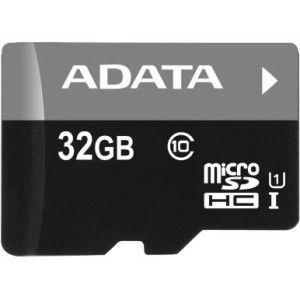 Cartão de memoria ADATA 32GB Micro SDHC Class 10, AUSDH32GUICL10RA1 - BOX