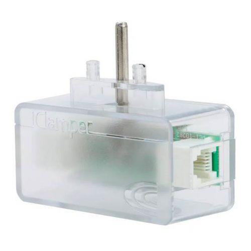 Protetor Eletrico DPS Clamper iClamper Tel + Cabo RJ11 Transparente, 010645