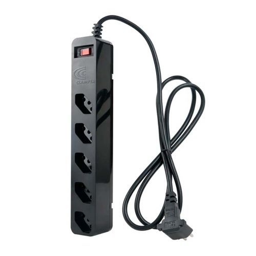 Filtro de linha DPS Clamper iClamper Energia 5 Tomadas Preto, 010872