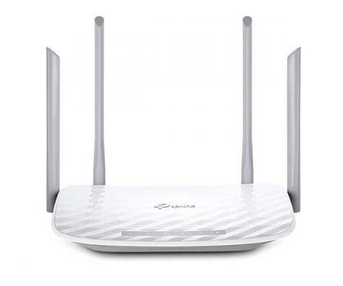 Roteador Wireless TP-Link AC1200 Dual Band 4 Antenas Branco, Archer C5W