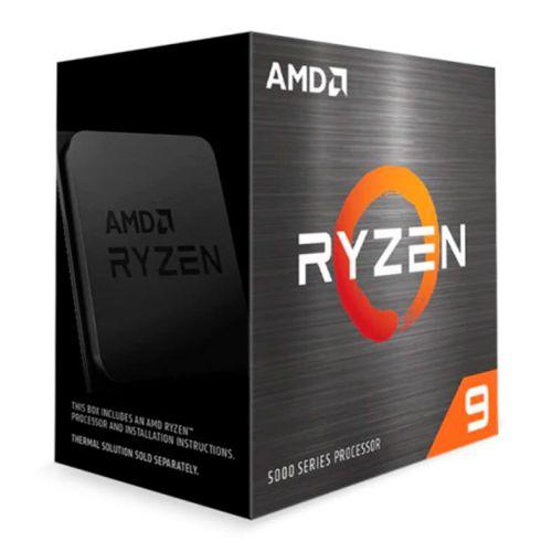 Processador AMD Ryzen 9 5900X 12 Cores 3.7GHz (4.8GHz Turbo) 70MB Cache AM4, 100-100000061WOF