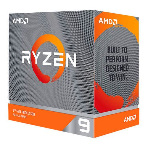 Processador AMD Ryzen 9 3900XT 12-Core 3.8GHz (4.7GHz Turbo) 70MB Cache AM4, 100-100000277WOF
