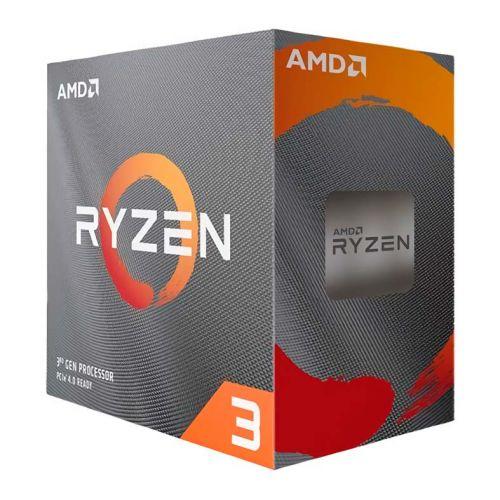 Processador AMD Ryzen 3 3100 Quad-Core 3.6Ghz (3.9Ghz Turbo) 18MB Cache AM4, 100-100000284BOX