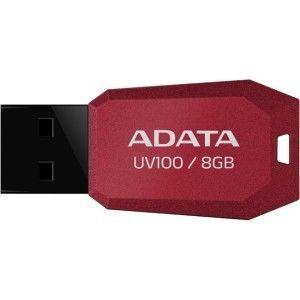Pendrive ADATA Classic UV100 8GB Vermelho, AUV100-8G-RRD - BOX