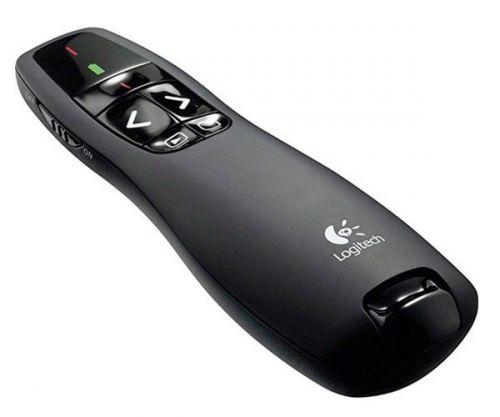 Apresentador Logitech R400 USB Wireless Preto, 910-001354