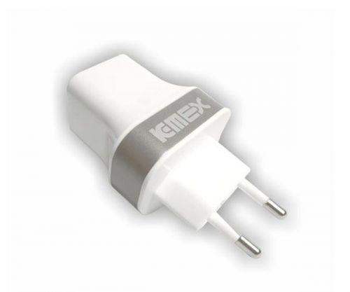 Carregador Kmex USB Branco, AB-W525