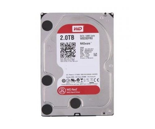 "HD WD Red NAS 2TB 3.5"" Sata III 6GB/s, WD20EFAX"
