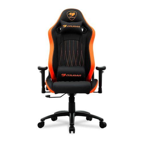 Cadeira Gamer Cougar Explore Preto/Laranja, 3MEPENXB.0001
