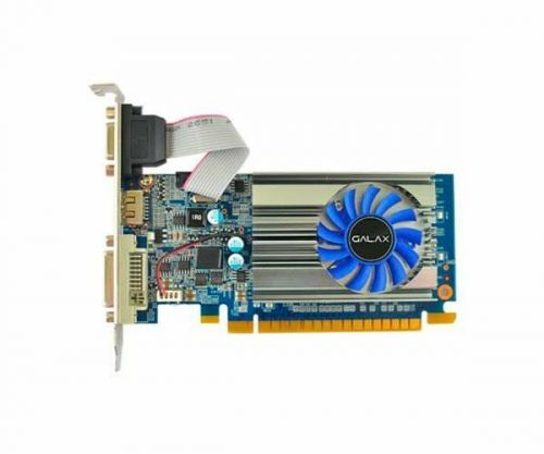 Placa De Video Galax Geforce GT 710 1GB GDDR3 64-bit, 71GGH4HXJ4FN