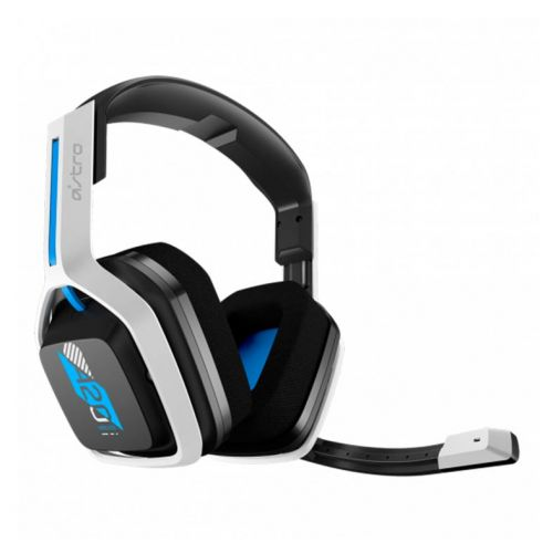 Headset Gamer Astro A20 Wireless GEN 2 PS5/PS4/PC/MAC Branco/Azul, 939-001877