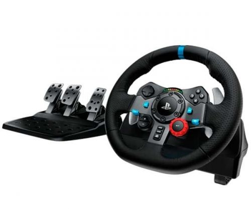 Volante e Pedais Logitech G29 Driving Force USB Para PS3/PS4/PC, 941-000111