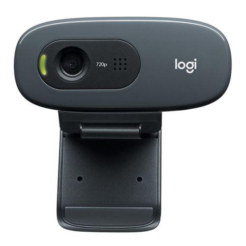 Webcam Logitech C270 HD 720p Com Microfone Preta, 960-000694