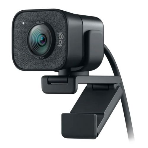 Webcam Logitech StreamCam Plus Full HD 1080p Preta, 960-001280