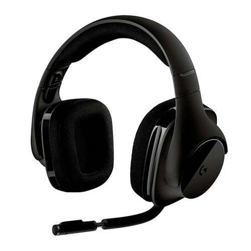 Headset Logitech G533 7.1 Wireless Preto, 981-000633