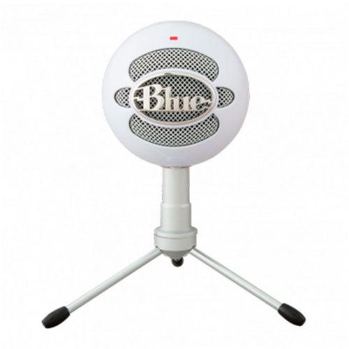 Microfone Condensador Blue Snowball Ice White, 988-000070