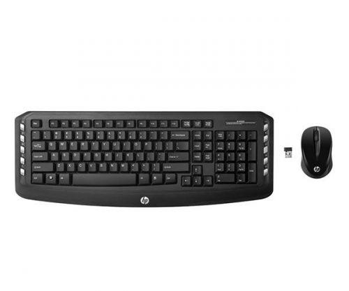Kit Teclado e Mouse HP Wirelless Classic, LV290AA