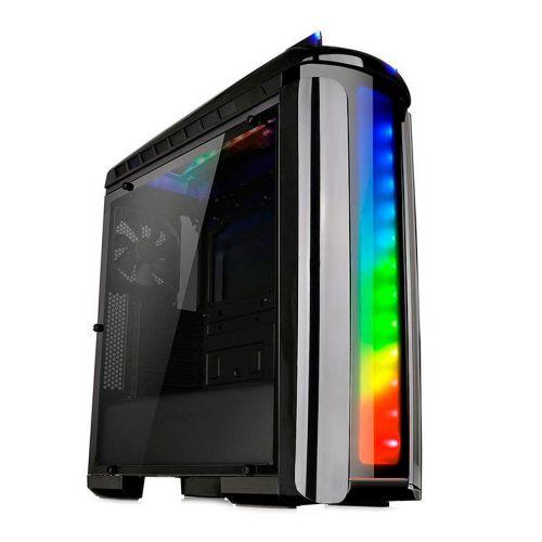 Gabinete Thermaltake Versa C22 RGB Preto + Fonte 700W e  Water Cooler 240 RGB,  CA-1G9-00M1WN-03