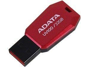 Pendrive ADATA Classic UV100 32GB Vermelho, AUV100-32G-RRD - BOX