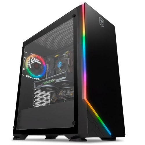Computador Pichau Gaming Highflyer, I5 9600KF, GeForce RTX 2060 Super 8GB Windforce , 8GB DDR4 3000Mhz , SSD 480GB, 650w, Archangel X RGB