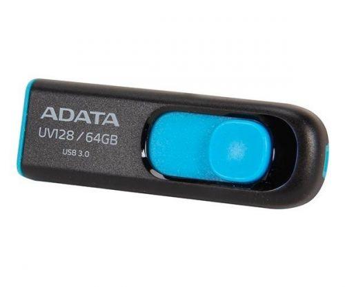 Pendrive Adata UV128 64GB USB3.1, AUV128-64G-RBE