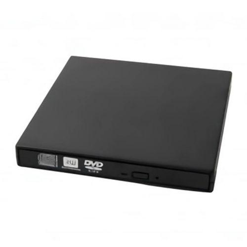 Gravador Externo e Leitor Bluecase CD/DVD 8x Preto, BGDE-02