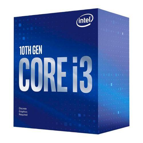 Processador Intel Core i3-10100F Quad-Core 3.6Ghz (4.3Ghz Turbo) 6MB Cache LGA1200, BX8070110100F