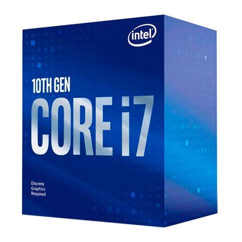 Processador Intel Core i7-10700F Octa-Core 2.9GHz (4.8GHz Turbo) 16MB Cache LGA1200, BX8070110700F