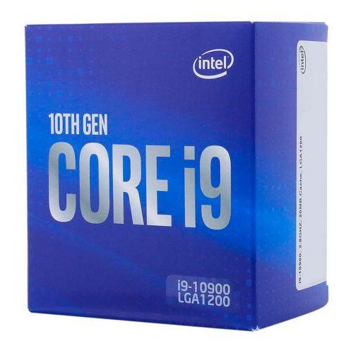 Processador Intel Core i9-10900 Deca-Core 2.8GHz (5.2GHz Turbo) 20MB Cache LGA1200, BX8070110900