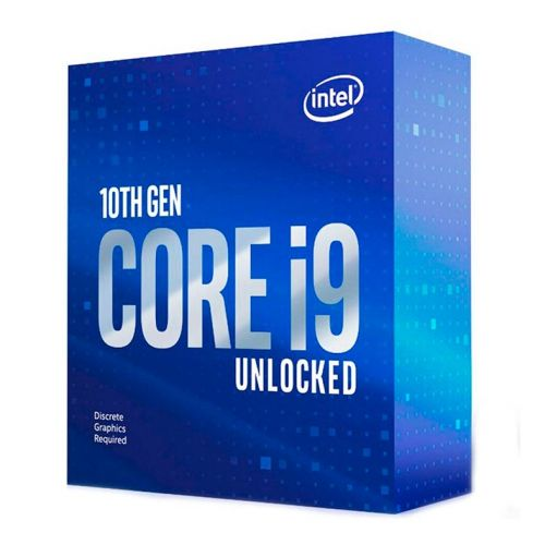 Processador Intel Core i9-10900kF Deca-Core 3.7GHz (5.3GHz Turbo) 20MB Cache LGA1200, BX8070110900KF
