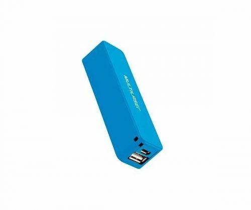 Power Bank Multilaser Smarto Go 2200 Mah Azul, CB078