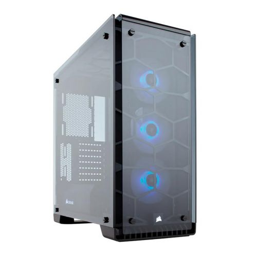Gabinete Corsair Crystal Series 570X RGB Preto, CC-9011098-WW