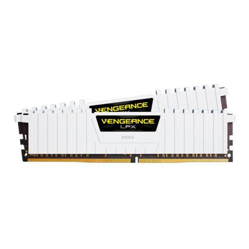 Memoria Corsair Vengeance LPX 16GB (2x8) DDR4 3000MHz C15 Branco, CMK16GX4M2B3000C15W