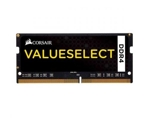 Memoria Notebook Corsair ValueSelect 4GB (1x4) DDR4 2133MHz Preta, CMSO4GX4M1A2133C15
