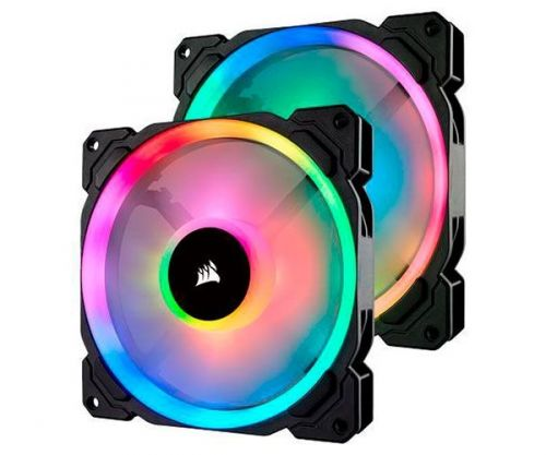 Ventoinha Corsair LL140 RGB 2x140mm, CO-9050074-WW