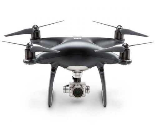 Drone DJI PHANTOM 4 PRO OBSIDIAN EDITION C/2 BATERIAS CONTROLE C/ TELA DE 5.5 POL, CP.PT.00000016.01.EB