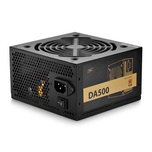 Fonte DeepCool DA500 ATX 80Plus Bronze 500W, DP-BZ-DA500N