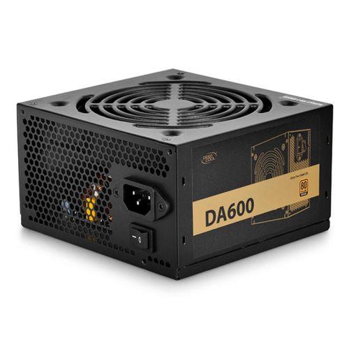 Fonte DeepCool DA600 ATX 80Plus Bronze, DP-BZ-DA600N