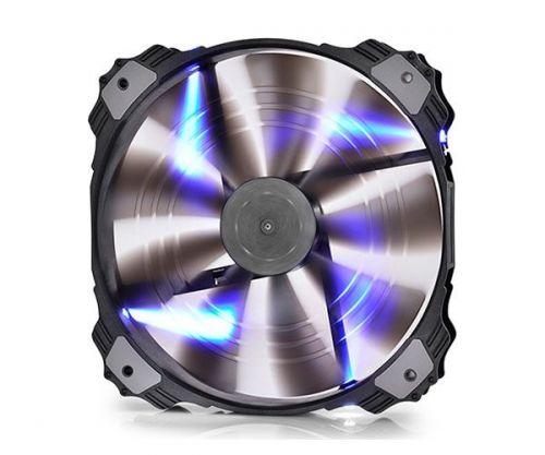 Ventoinha Deepcool Xfan 200 Led Azul 200mm, DP-FLED-XFAN200BL