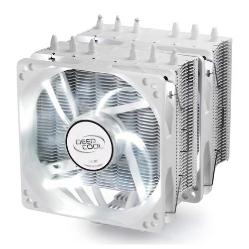 Cooler DeepCool Neptwin LED Branco, DP-MCH6-NT-WHAM4