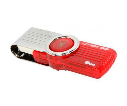 Pen Drive Kingston DataTraveler 101 G2 8GB USB 2.0 Vermelho, DT101G2/8GBZ