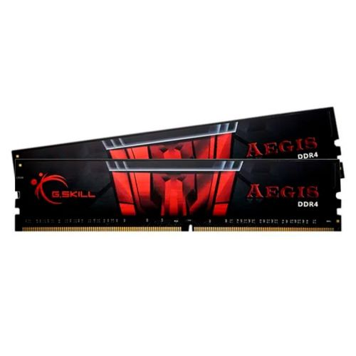 Memoria G.Skill Aegis 16GB (2x8) DDR4 2400MHz Preta, F4-2400C15D-16GIS