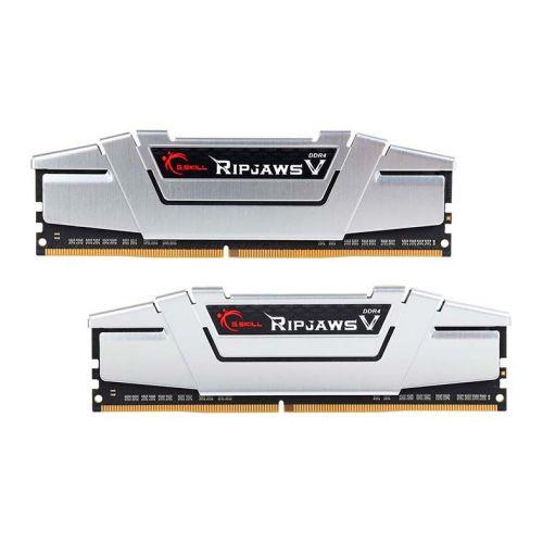Memoria G.Skill Ripjaws V 16GB (2x8) DDR4 3000MHz Cinza, F4-3000C15D-16GVS