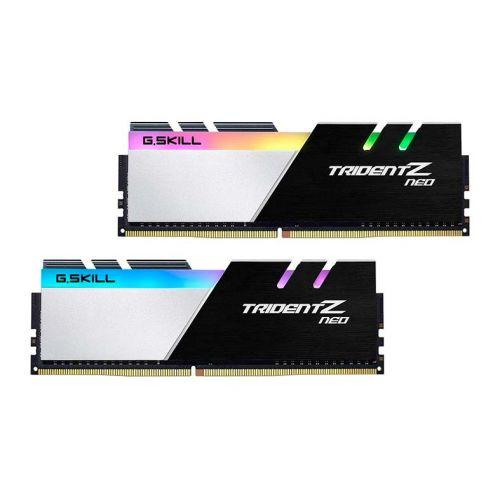 Memoria G.Skill Trident Z Neo RGB 16GB (2x8) DDR4 3600MHz Preta/Prata, F4-3600C18D-16GTZN