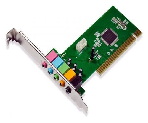Placa De Som Multilaser 6 CH 5.1 Barramento PCI, GA141