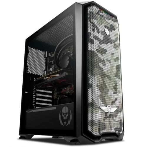 Computador Pichau Gamer RTB, Ryzen 5 3600, Radeon RX 590 8Gb PowerColor, 8GB DDR4, HD 1TB, 500w, Gadit X RTB,  Aqua 120mm