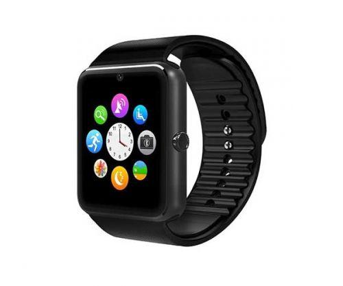 Smart Watch GT08 Preto Bluetooth Compativel com IOS e Android