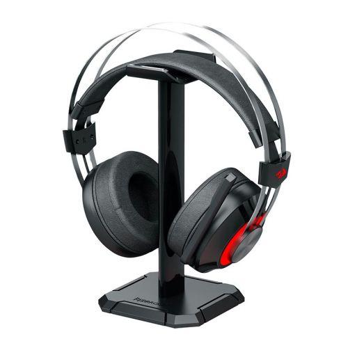 Headset Gamer e Suporte Redragon Talos, H601-1