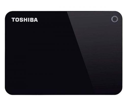 HD Externo Toshiba Canvio Advance 1TB Preto USB 3.0, HDTC910XK3AA
